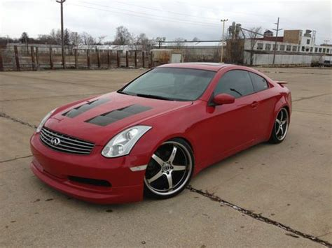 infiniti g35 stats purchase used infiniti g35 coupe custom in hartville ohio