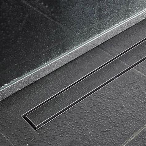 stainless steel floor l vidaxl co uk linear shower floor drain stainless steel