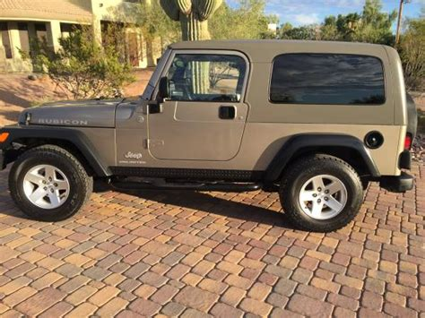 jeep tucson 2005 jeep wrangler unlimited rubicon for sale in tucson