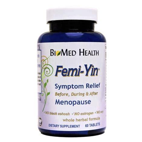 supplement yin biomed health femi yin menopause supplement dietry