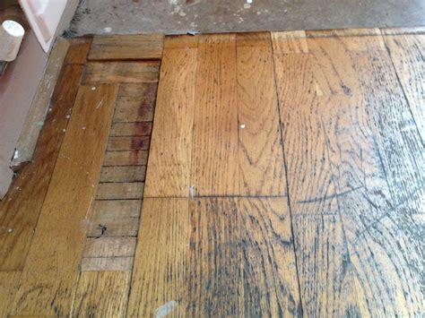 Damaged Laminate Floors