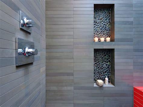 Bathroom Shower Niche Ideas by Bathroom Niche River Rock Shower Floor Tile Bathroom