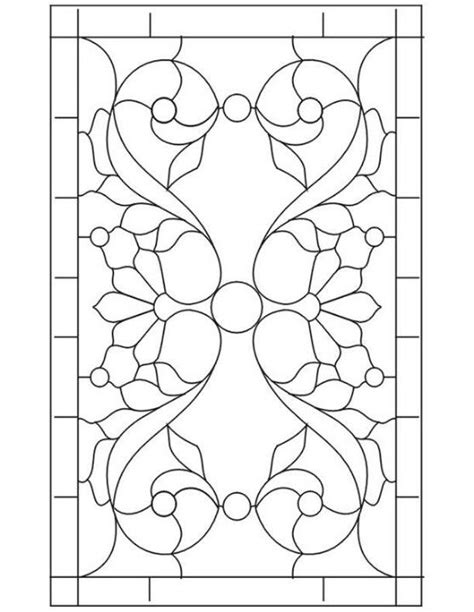 stained glass pattern stained glass patterns pinterest