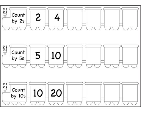 Counting By 2 S Worksheet by Count By 2s Worksheets Activity Shelter