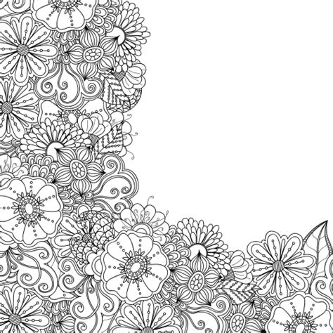 Advanced Flower Coloring Pages advanced flower coloring pages 7 kidspressmagazine