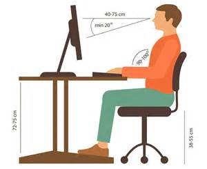 Proper Computer Desk Height Office Chair Considerations For And