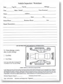 Experiment Report Template vehicle inspection worksheet packaged 100 sheets per pad