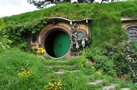 hobbit house new zealand architecture hobbit house design with door and