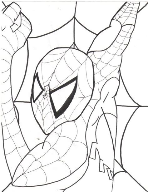 spectacular spiderman coloring pages coloring home