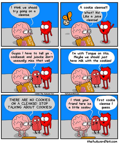 Brain Detox For Dogs by Awkward Yeti Card And On
