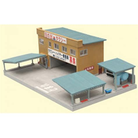 tomytec diorama collection quot taxi office quot 077 n scale from japan new ebay
