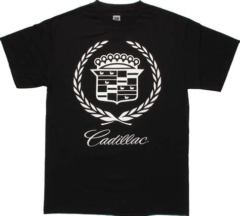 cadillac t shirts cadillac emblem black t shirt