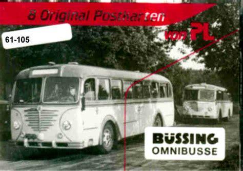 Postkarten Drucken Frankfurt by Postkarten B 252 Ssing Omnibusse Omnibus Modell Shop Rhein Ruhr
