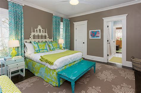 pistachio green bedroom pagoda headboard contemporary girl s room colordrunk