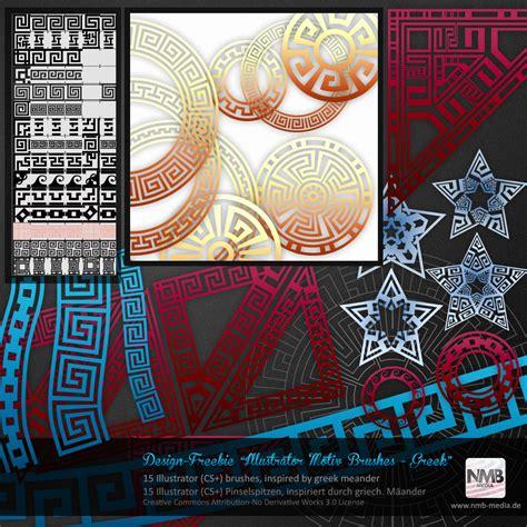 pattern greek illustrator 15 illustrator cs greek motive brushes by hexe78 on
