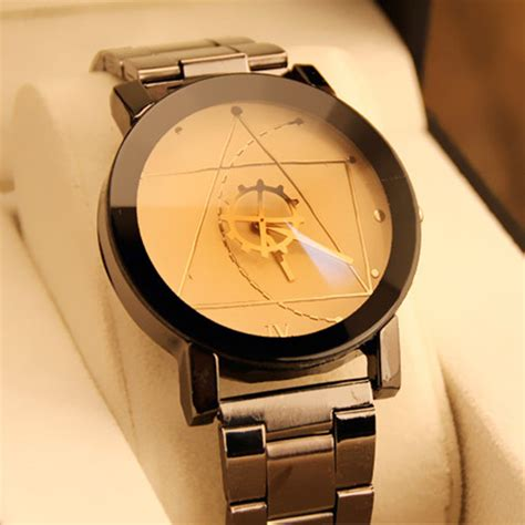 Jam Tangan Davinci fashion mens womens band quartz analog wrist compass