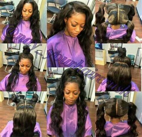 mia on pinterest vixen sew in sew ins and green hair vixen sew in 30 vixen sew in hairstyles for 2018