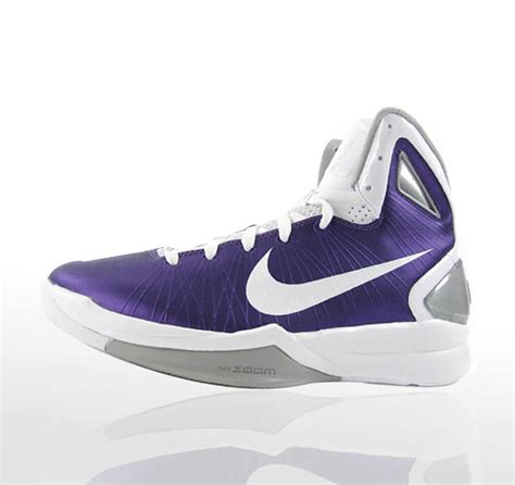 nike hyperdunk 2010 white purple basketball shoes nike