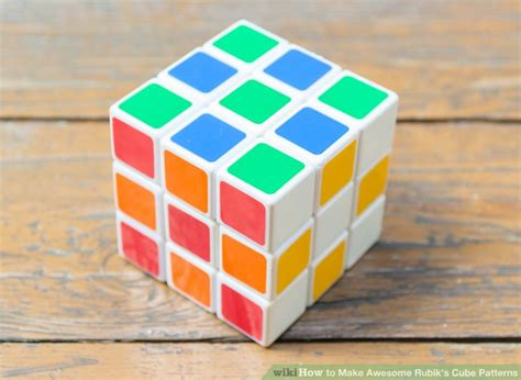 How To Make A Rubik Cube Out Of Paper - 3 ways to make awesome rubik s cube patterns wikihow
