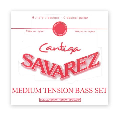Savarez 540cr New Cristal Classic savarez 510r cantiga medium tension bass set los