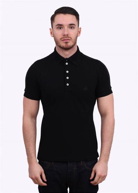 Polo Shirt Lacoste Cvc 24s Polo Premium Black By Rikli Clothing vivienne westwood logo polo shirt black
