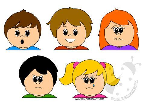 delle emozioni schede didattiche le espressioni dei bambini schede didattiche da stare