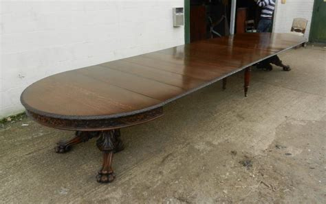16 Seater Dining Table Antique Dining Tables Uk In Our Antique Furniture Warehouse Antique Dining Tables