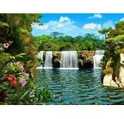 Imagini Cascada 3d Peisaje Si Poze Pentru Desktop Wallpaper And Post