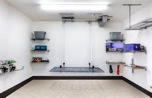 Motorized Overhead Garage Storage Systems by Powerrax Motorized Garage Overhead Storage Powerrax