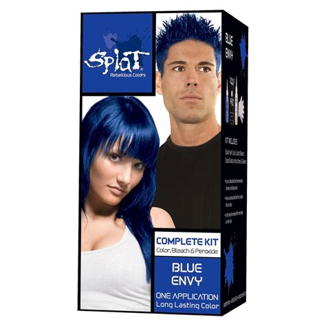 splat colors without bleaching first splat hair bleach and color kit
