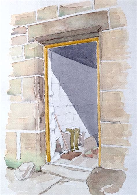 john edwards house farm house door sketch john edwards sketching ink