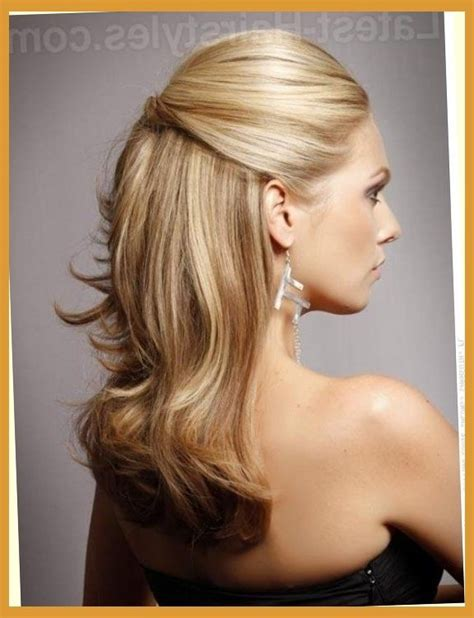 curly partial up how curly hairstyles for prom for medium length hair half