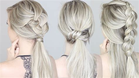 Simple Summer Hairstyles by Easy Hairstyles For Summer
