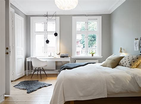 Light Grey Bedroom | decordots grey walls