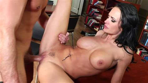 Busty Brunette Likes Sex In The Library Movie Alektra