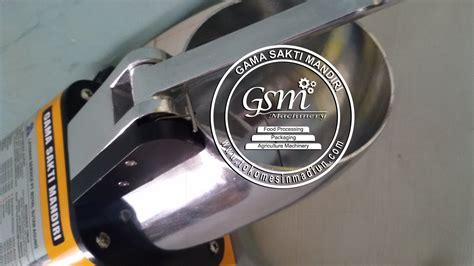 Penyerut Es Batu alat serut es batu toko mesin gama sakti