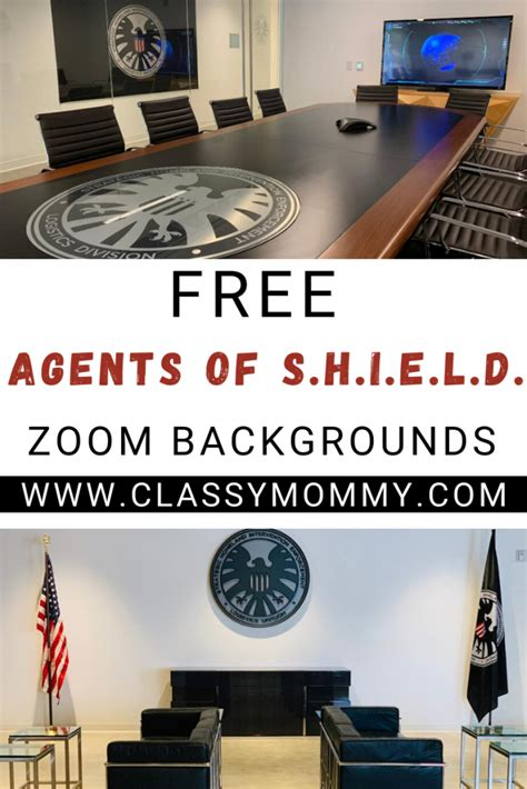 agents  shield zoom backgrounds