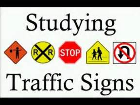 Learn traffic signs symbols studying teach free rules of the road dmv