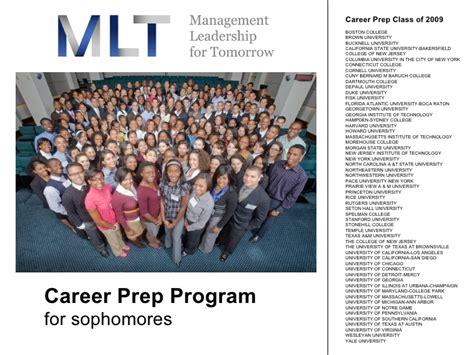 Mlt Mba Prep Program by Mlt Career Prep Program 2009