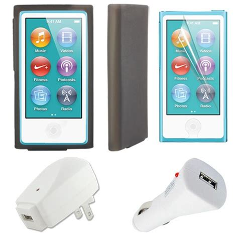 ipod nano 7th generation charger cover screen protector chargers for apple ipod nano 7th