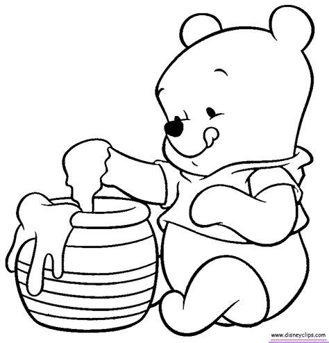 imagenes de winnie pooh sin pintar winnie pooh bebe para colorear buscar con google