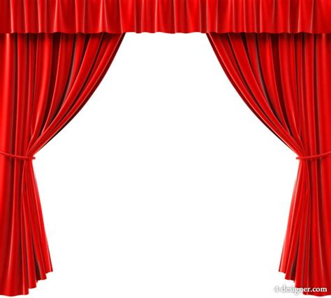 red curtain clipart 4 designer exquisite red curtain hd pictures