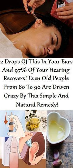 tools for healing driven by nature piloted by science 2 drops of this in your ears and 97 of your hearing