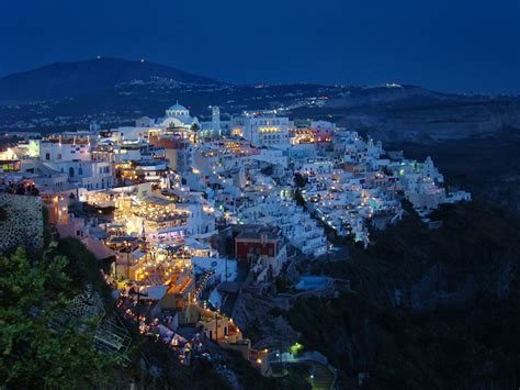 Italy Houses by Fira Santorini Greece Amazing Places
