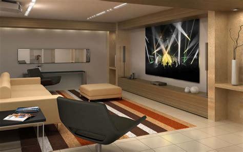 e home a sala de estar x home theater papo de design