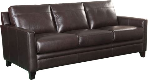 coleman leather sofa cambria fletcher brown leather sofa from luxe leather
