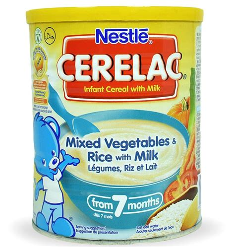 vegetables 7 months cerelac mixed vegetables rice with milk from 7 months