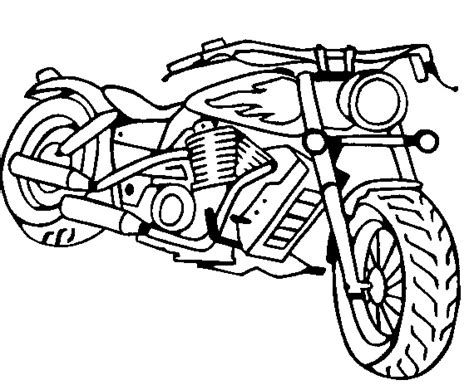 motorcycle coloring pages 3 coloring kids