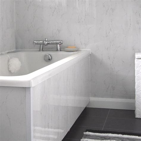 cladding for bathroom spaceline silver grey marble effect cladding from the