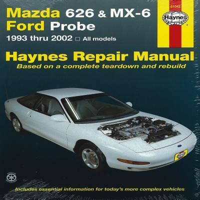 motor auto repair manual 2000 mazda 626 auto manual mazda 626 automotive repair manual john haynes